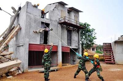 Ejército vietnamita aboga por intensificar cooperación mundial frente a los desastres naturales - ảnh 1