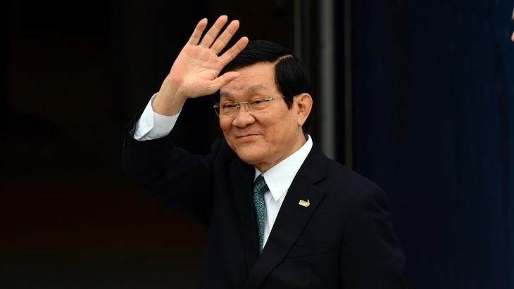 Presidente de Vietnam inicia visita oficial a Estados Unidos - ảnh 1