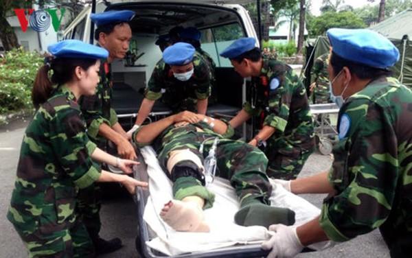 Hospital de campaña de segunda categoría de Vietnam dispuesto a asumir misión de la ONU - ảnh 1