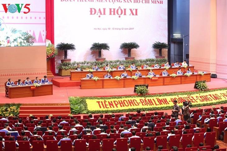 El Congreso de la Juventud Comunista Ho Chi Minh comienza la primera sesión - ảnh 1