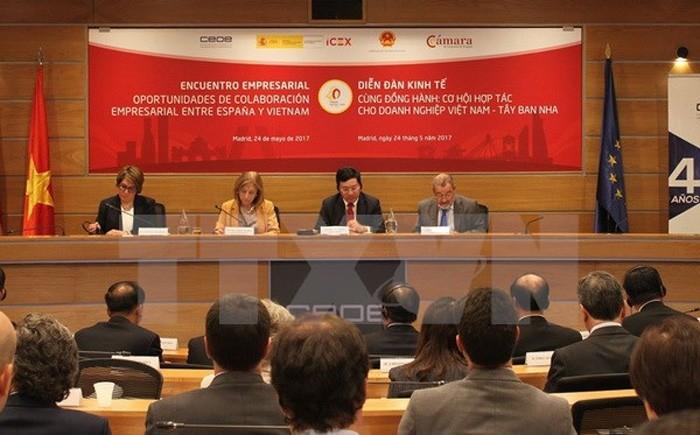 España, primer destino de inversiones vietnamitas en 2019 - ảnh 1