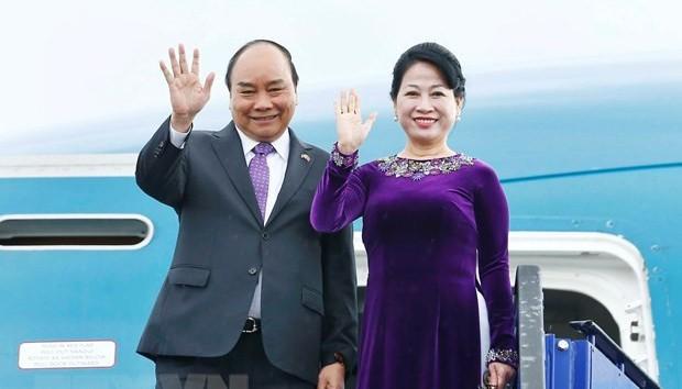 Recorrido de premier vietnamita por Rusia, Noruega y Suecia refuerza lazos con esos países - ảnh 1