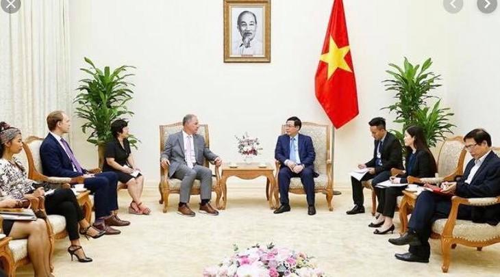 Vietnam y Estados Unidos promueven cooperación energética - ảnh 1