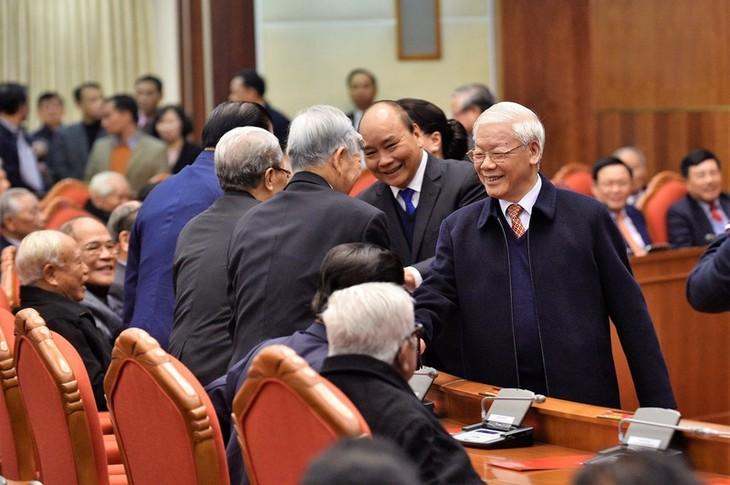 Máximo líder de Vietnam ensalza posición creciente del país bajo el liderazgo del Partido Comunista - ảnh 1