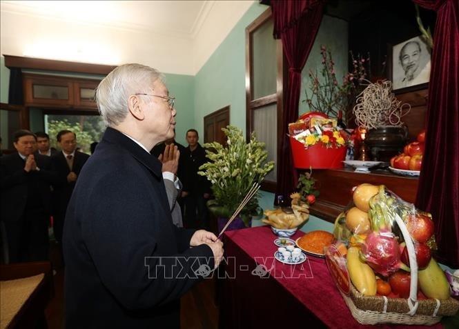 Máximo líder de Vietnam ensalza posición creciente del país bajo el liderazgo del Partido Comunista - ảnh 2