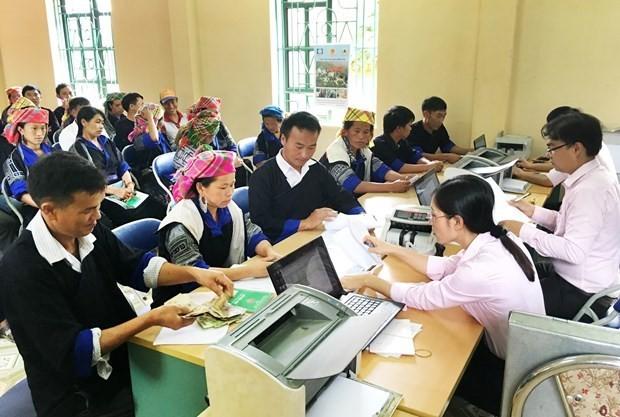 Evalúan la eficiencia de créditos del Banco de Políticas Sociales de Vietnam en el último lustro - ảnh 1