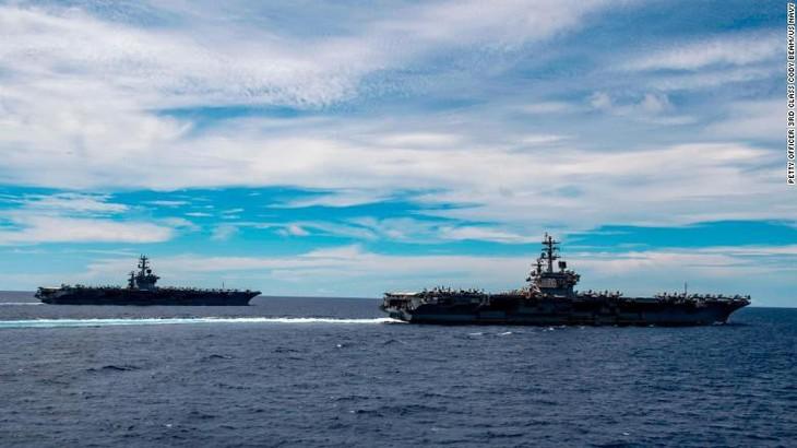 """Estados Unidos juzga """"ilegales"""" las reivindicaciones territoriales de Beijing en el Mar Oriental - ảnh 1"""