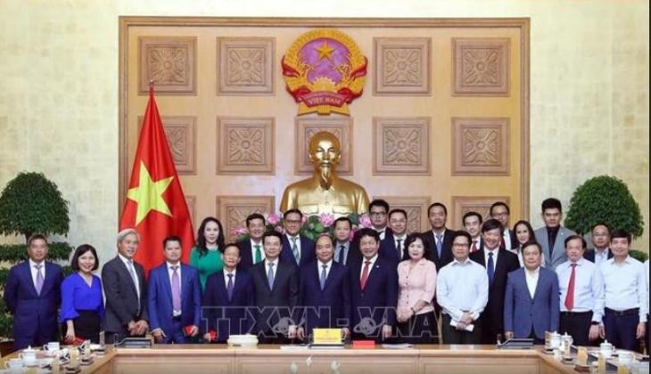 Premier vietnamita destaca la importancia del sector privado - ảnh 1