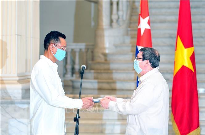 Embajador de Vietnam en Cuba honrado con Medalla de la Amistad - ảnh 1