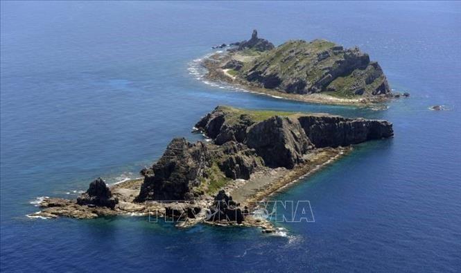 Barcos chinos vistos cerca de las islas Senkaku/Diaoyu durante 100 días - ảnh 1