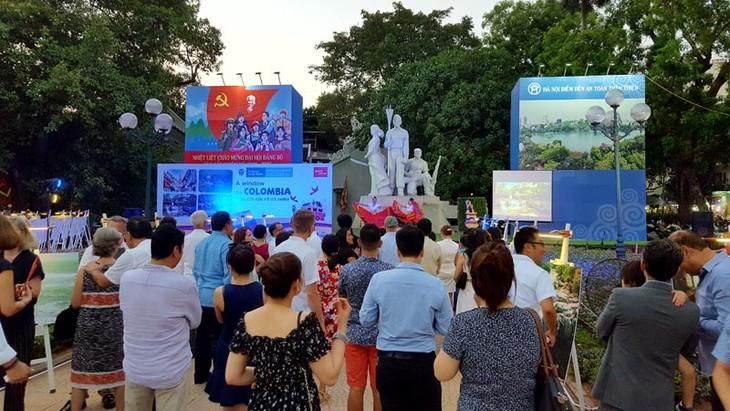 Imágenes de la cultura milenaria de Colombia resaltan en Hanói - ảnh 3