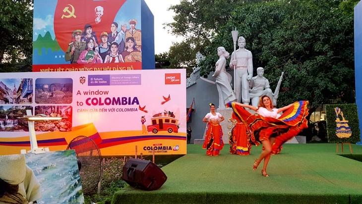 Imágenes de la cultura milenaria de Colombia resaltan en Hanói - ảnh 2