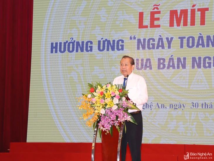 Vietnam comprometido a poner fin a la trata de personas - ảnh 1