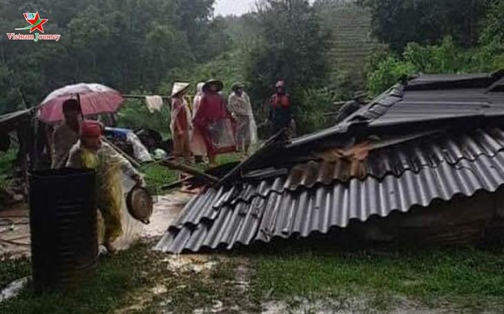 Localidades vietnamitas superan consecuencias del tifón Sinlaku - ảnh 1