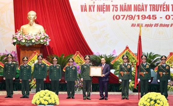 Estado Mayor del Ejército Popular de Vietnam celebra 75 años de su fundación - ảnh 1