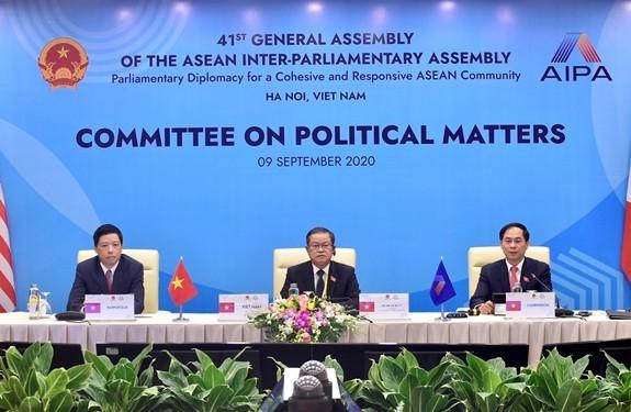 AIPA: por la promoción de la paz, la seguridad y el orden regional - ảnh 1