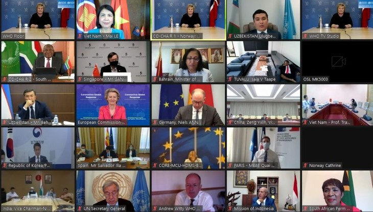 Vietnam contribuye a la lucha internacional contra el covid-19 - ảnh 1