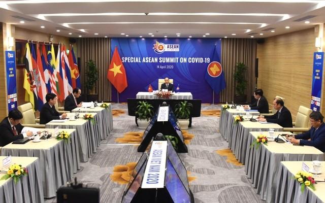 Vietnam contribuye a convertir la Asean en un modelo de cooperación regional contra el convid-19 - ảnh 2