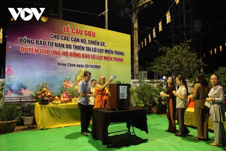 Vietnamitas en el extranjero unen manos para apoyar económicamente a víctimas de inundaciones en el país natal - ảnh 1