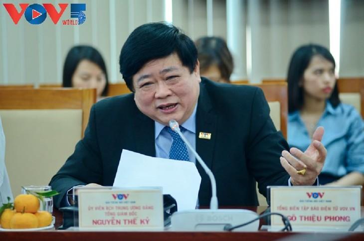 Líderes de la Voz de Vietnam asisten a una reunión histórica con todos los organismos de la ONU en el país - ảnh 1