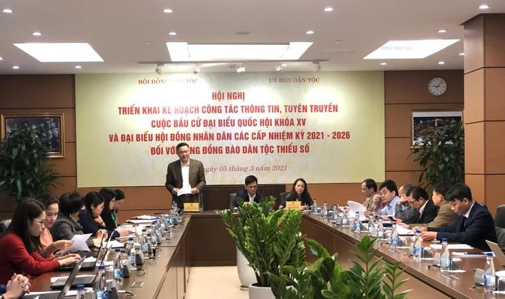 Aseguran la proporción de representantes de minorías étnicas en los órganos de representación del pueblo - ảnh 1