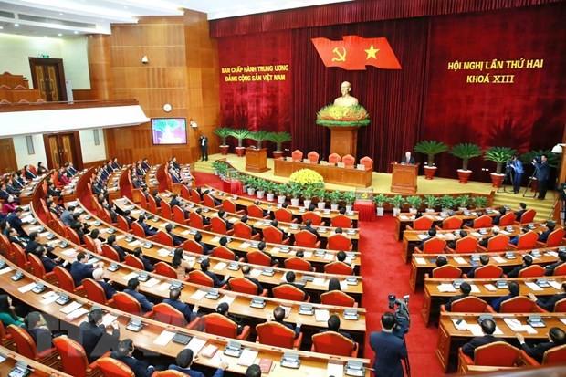 Comunicado del segundo Pleno del Comité Central del PCV, XIII mandato - ảnh 1