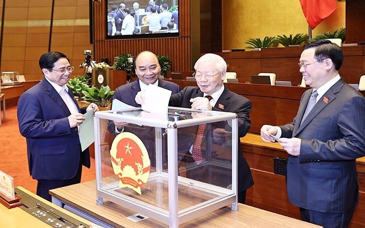 Vietnam unido para cumplir los objetivos de desarrollo nacional - ảnh 1