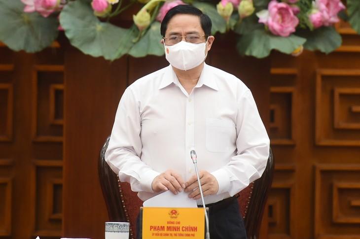 El Gobierno vietnamita despliega medidas urgentes frente a nuevos contagios con el covid-19 en la comunidad - ảnh 1