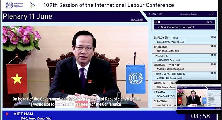 Vietnam ante la 109ª Conferencia de la Organización Internacional del Trabajo - ảnh 2