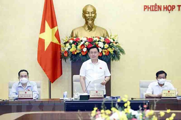 Finaliza la 57ª reunión del Comité Permanente del Parlamento vietnamita - ảnh 1
