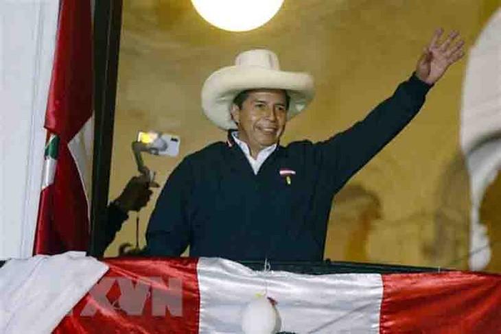 Jefe de Estado de Vietnam felicita a nuevo presidente de Perú - ảnh 1