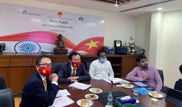 India presta su ayuda para convertir a Vietnam en un centro farmacéutico líder del mundo - ảnh 1