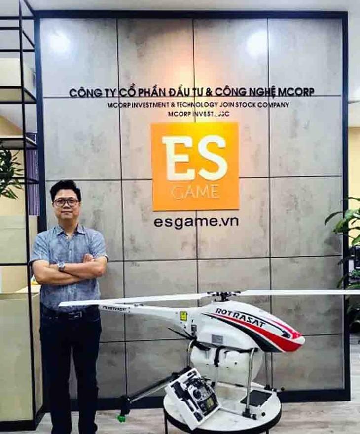 Aviones fumigadores no tripulados, una innovadora solución para la producción agrícola de Vietnam - ảnh 4