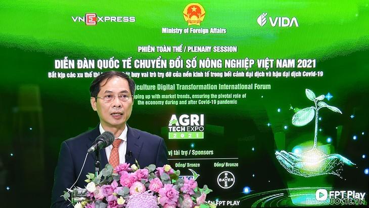 Vietnam fortalece la transformación digital en el sector agrícola - ảnh 1