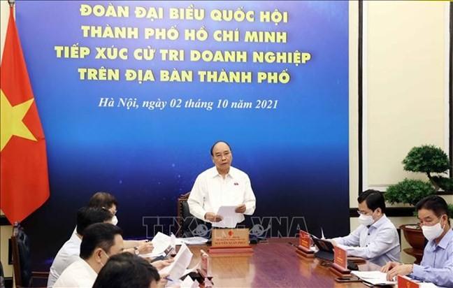 El sector empresarial de Ciudad Ho Chi Minh unido para superar sus mayores retos en 35 años - ảnh 1