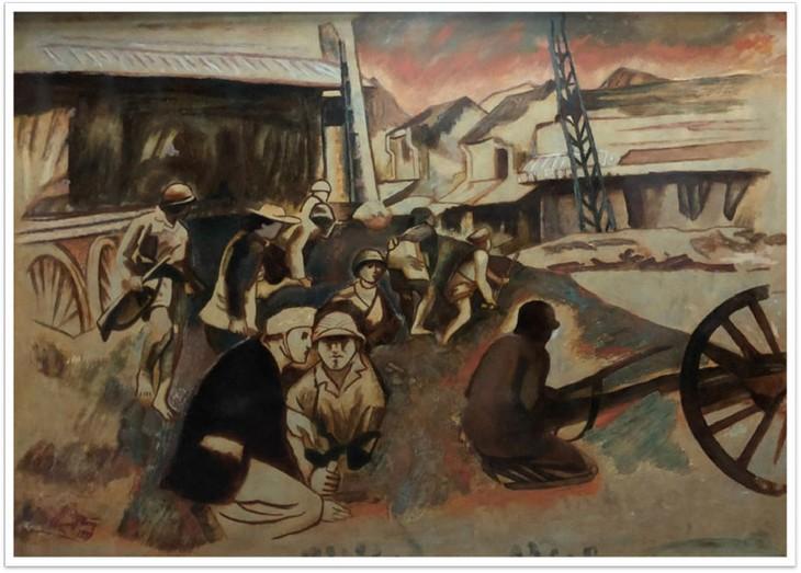 Exhibición de arte por 67 aniversario de la liberación de Hanói - ảnh 1