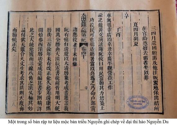 Ensalzan el legado del gran poeta Nguyen Du - ảnh 1