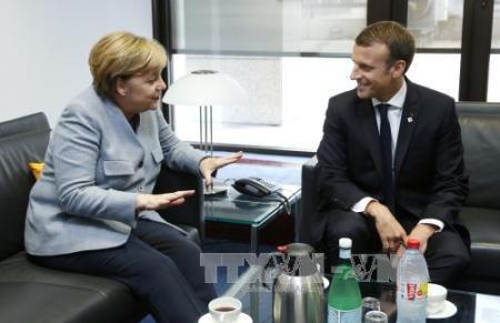 Francia y Alemania llaman a la implementación de una solución pacífica en el Este ucraniano  - ảnh 1