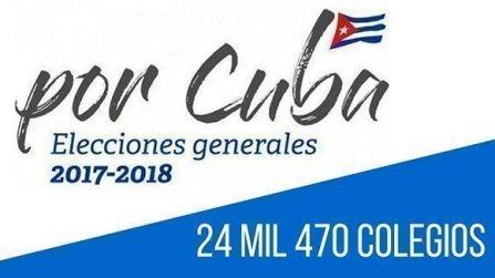 Cuba preparada para elecciones generales - ảnh 1