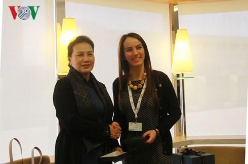 Estrechan cooperación Vietnam-Unión Interparlamentaria  - ảnh 1