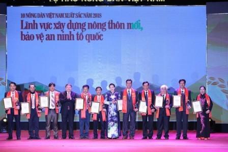 Honran a agricultores vietnamitas de excelencia - ảnh 1
