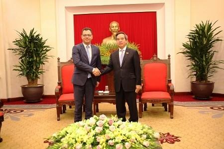 Vietnam y Rumania fortalecen nexos  - ảnh 1
