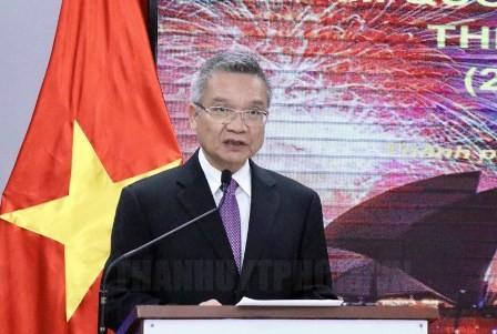 Celebran Día Nacional de Australia en Ciudad Ho Chi Minh - ảnh 1