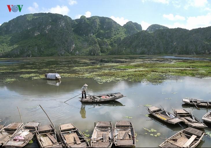 La magnífica belleza de la Reserva Natural de Van Long   - ảnh 2