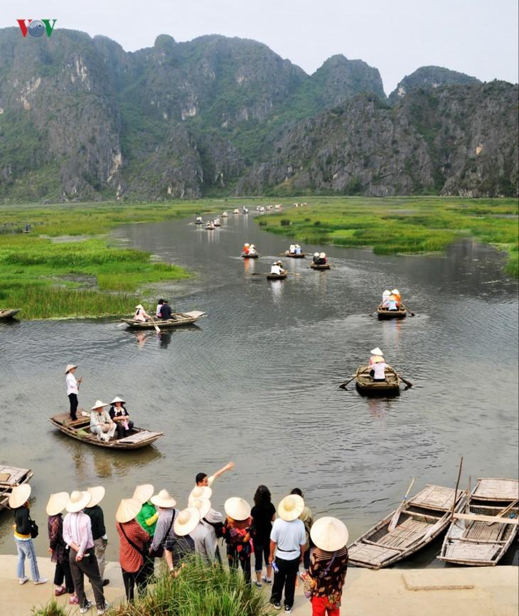 La magnífica belleza de la Reserva Natural de Van Long   - ảnh 3