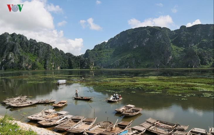 La magnífica belleza de la Reserva Natural de Van Long   - ảnh 6
