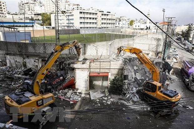 Palestina solicita investigación contra amenaza israelí de destruir viviendas en Jerusalén Este - ảnh 1