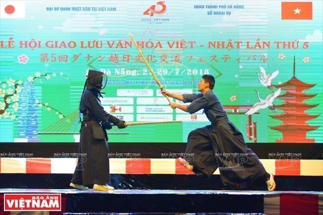 Celebran Festival Cultural Vietnam-Japón en Da Nang - ảnh 1