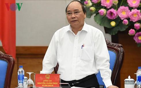 Premier de Vietnam pide crear más condiciones al movimiento emprendedor - ảnh 1