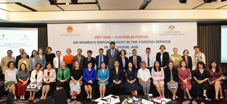 Vietnam y Australia cooperan para empoderar a las mujeres en el ámbito diplomático - ảnh 1